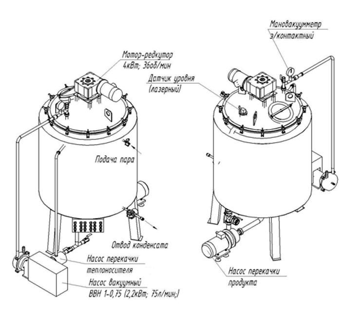 Вариант схема устройства